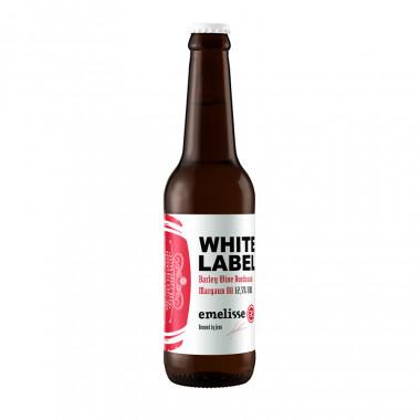 Bière Barley Wine White Label Vieillie en fûts de Margaux 33cl 12.5°