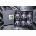Verres à whisky x6 coffret Celtic Crystal