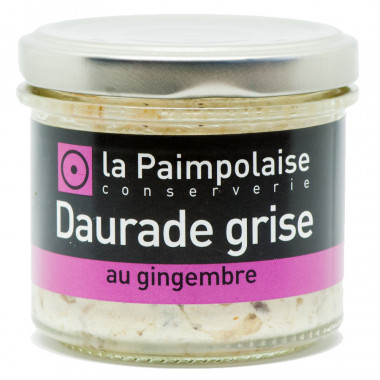 Tartinable Daurade Grise 80g