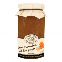 Marmelade Orange & Gingembre Cottage Delight 340g