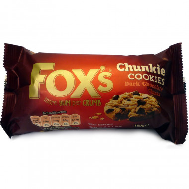 Dark Chocolate Chunkie Cookies 180g