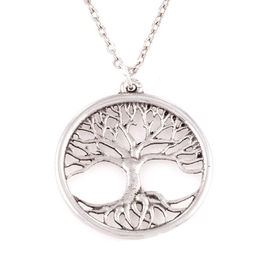 Pendentif etain tree of life - Arbre a collier ...