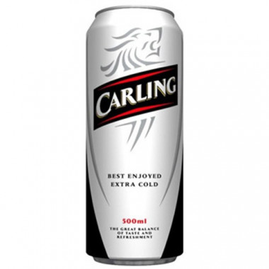 Carling Black Label 50cl 4°