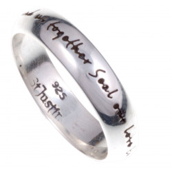 Love Collection Silver Ring
