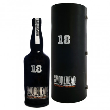 Smokehead 18 ans Extra Black 70cl 46°