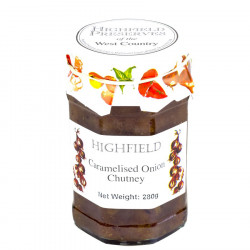 Caramelised Onion Chutney Highfield Preserves 280g