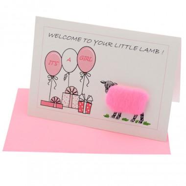 Carte Postale Baby Girl