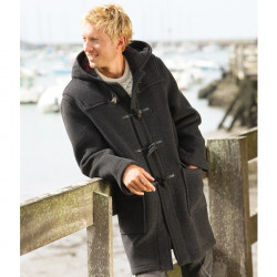 Duffle-Coat Martin Anthracite London Tradition
