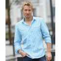 Out of Ireland Turquoise Gingham Check Shirt