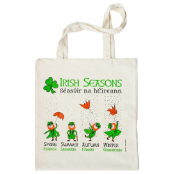 Irish Seasons Shopper Bag