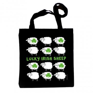 Sac Shopping Lucky Irish Sheep