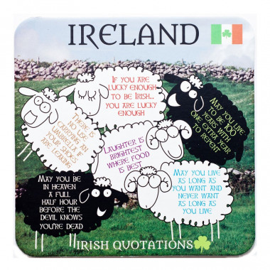 Irish Quotes Coaster