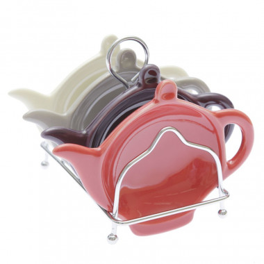 Tea Bag Holders x 4