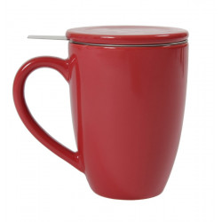 Teapot for One - Mug, Strainer and Lid