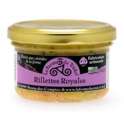 Royal Rillettes La Ferme du Triskel 80g