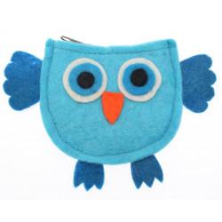 Kusan Owl Pocket Purse