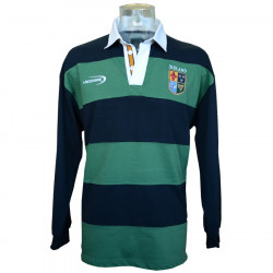 Lansdowne Ireland Navy & Green Stripes Polo Shirt
