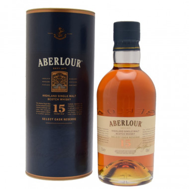 Aberlour 15 Years Old Select Cask Reserve 70cl 43°