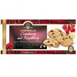 Cranberry & Raspberry Cookies 125g