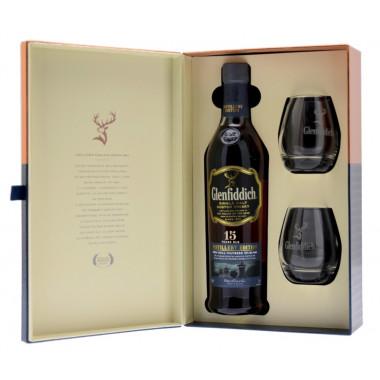 Coffret Glenfiddich 15 ans 70cl 51° Distillery Edition