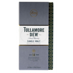 Tullamore Dew 14 Years Old 70cl 41.3° & 1 Flask