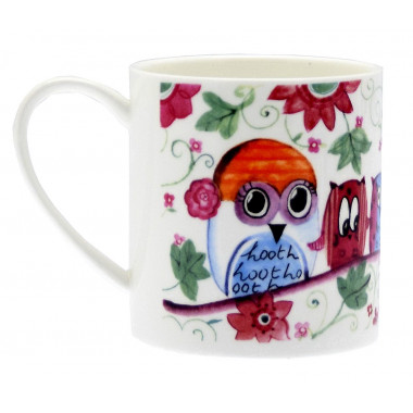 Owl With Laughter Mug 420ml