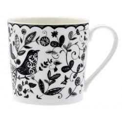 Bird & Owl Floral Mug 350ml