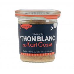 Rillettes de thon blanc au kari gosse 105g