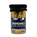Sardines � l'huile d'olive bio 245g