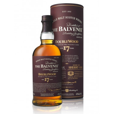 Balvenie 17 Years Old Double Wood 70cl 43°