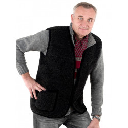 Alpen Dark Grey Fleece Waistcoat