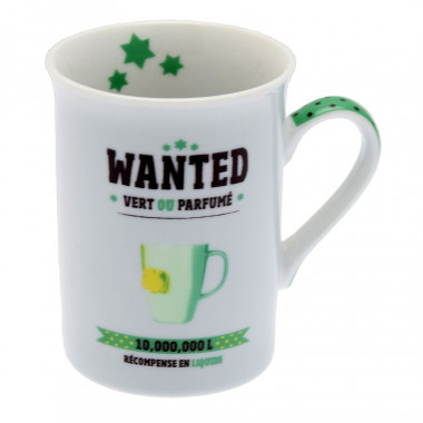 Mug Porcelaine Wanted 330ml