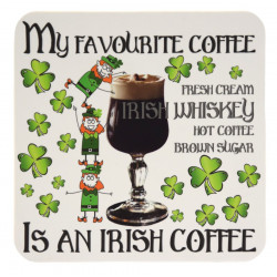 Irish Coffee Coaster