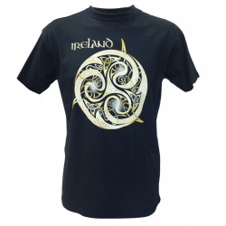 Triskel Ireland Navy Blue T-Shirt