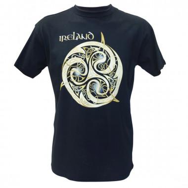 Triskel Ireland Navy Blue T-Shirt