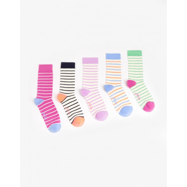 Tom Joule 5 Bamboo Striped Socks