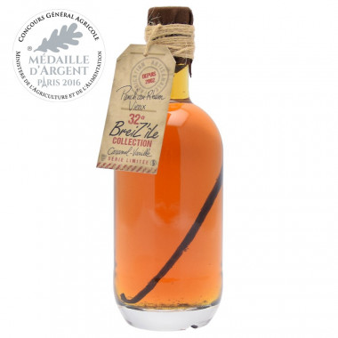 Breiz'île Collection Caramel & Vanilla 50cl 32°