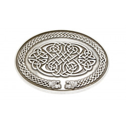 Oval Celtic Belt Buckle