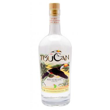 Rhum Toucan Blanc Guyane 70cl 50°