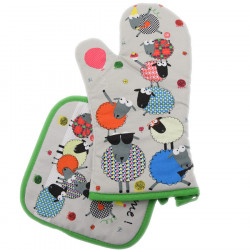 Party Time Kitchen Glove and Potholder
