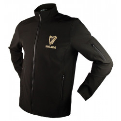 Harp Black Softshell Jacket