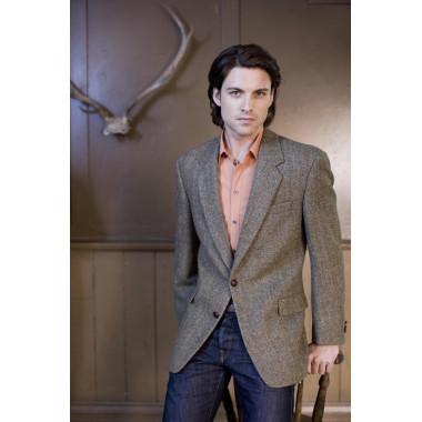 Harris Tweed Green Checked Taransay Jacket