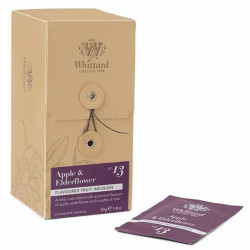 Whittard Apple & Elferflower Fruit Infusion 25 Tea Bags 50g
