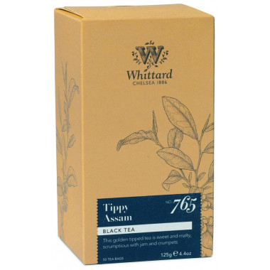 Whittard Tippy Assam Tea 50 Teabags