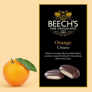 Beech's Chocolate Orange Creams 90g