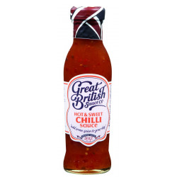 Sauce Hot & Sweet Chili Great British Sauce 335g