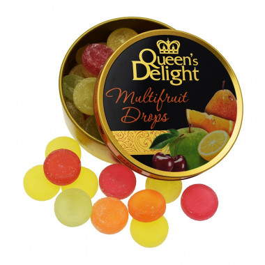 Multifruit Drops Queen's Delight 150g
