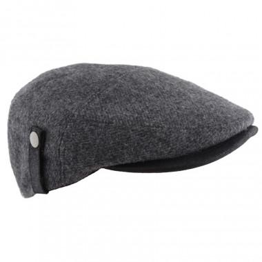Celtic Alliance Side Tab Grey Flat Cap