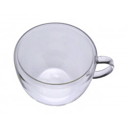 Mug Double Wall Glass 150ml