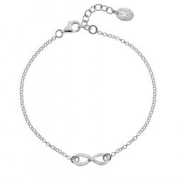 Infinity Silver Bracelet